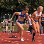 Stephanie Kleiber auf dem Weg ins Finale