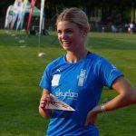 Strahlende Doppelsiegerin - Antonia Unger