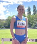 Stephanie Kleiber läuft DM-Norm